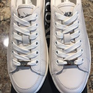 Authentic Coach White Sneakers Women's Size 5.5